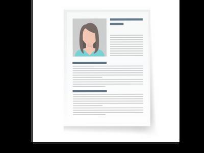 Order printing of CV / résumés online, cheap CV, résumés printing