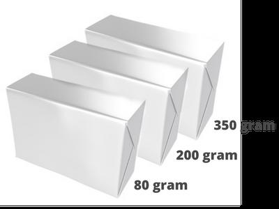 Printing settings: choose paper weight